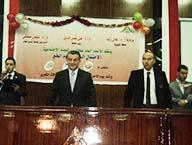 طلاب جامعة بنها يحتفلون بيوم اليتيم
