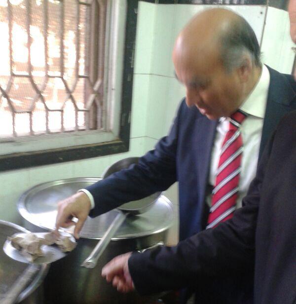 Surprise Visit to the University Hostel Kitchens