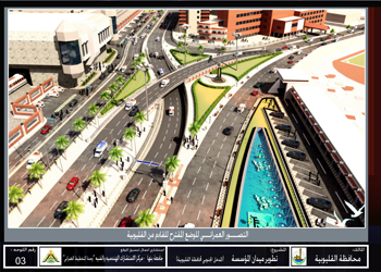 مشروع تطوير  ميدان المؤسسة بمدينة شبرا الخيمة