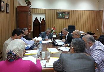 إجتماع اللجنة العليا للتصنيفات العالمية للجامعة