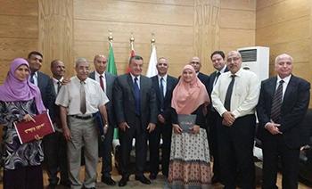Benha University Council honors the Winners of University Awards