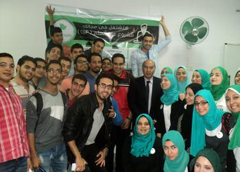 مبادرة طلابية بجامعة بنها لتنمية مهارات الطلاب لسوق العمل