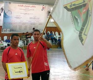 جامعة بنها تحصد 6 ميداليات فى ملتقى فرسان الإرادة لذوى الاحتياجات الخاصة بعين شمس