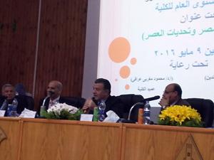 رئيس جامعة بنها فى مؤتمر زراعة مشتهر: مشروع المليون ونصف فدان مصدر خير للمصريين