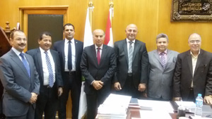 Prof. Dr. Soliman Mustafa meets the Director General of ICDL Arabia