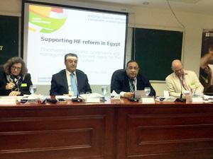 جامعة بنها تشارك في ورشة عمل المجلس البريطاني عن دعم الإصلاح في التعليم العالي بمصر