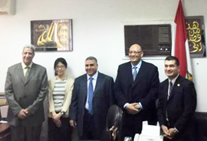 Welcome to the (JICA) Delegation in Faculty of Veterinary Medicine