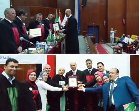 Benha University President honors the Quality Team in the Faculty of Agriculture