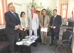 The Faculty of Agriculture receives JIACA Delegation
