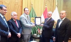 Cooperation between Benha University and the Iraqi Consul