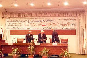 جامعة بنها تشارك في مؤتمر علمي يناقش استراتجيات تطوير التعليم في مصر