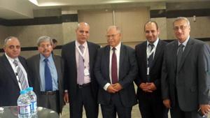 وزير التعليم العالى الأردنى ورئيس اتحاد الجامعات العربية يفتتحان معرض التعليم العالي فى الشرق الأوسط