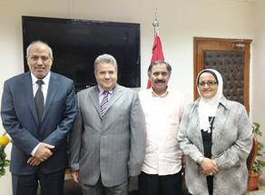 هندسة شبرا تستقبل رئيس المكتب الثقافي بدولة الكويت