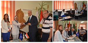 برنامج تنمية القرية المصرية بجامعة بنها