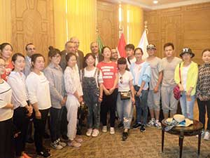 جامعة بنها تستقبل وفدا طلابيا من الصين