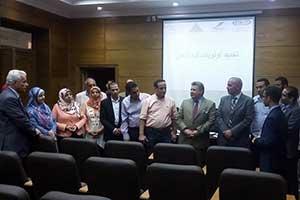 رئيس جامعة بنها يفتتح برنامج التشغيل والإرشاد الوظيفي لطلبة وخريجي الجامعة