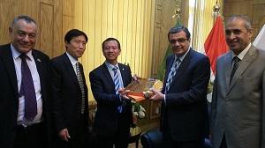 إتفاقية تعاون بين جامعتى بنها والدراسات الدولية بالصين فى مجال التبادل العلمى والطلابى