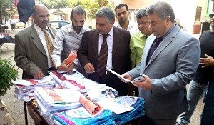 Prof. Dr. El Sayed Yusuf El Kady inspects Faculty of Engineering at Shoubra