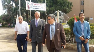 Prof. Dr. El Sayed Yusuf El Kady inspects Livestock Farms at Faculty of Agriculture