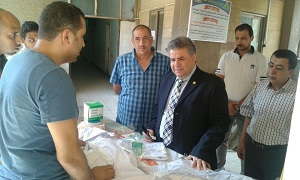 Prof. Dr. El Sayed Yusuf El Kady inspects Faculty of Science