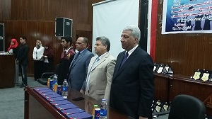 The university president cancels the celebrations to mourn the army martyrs