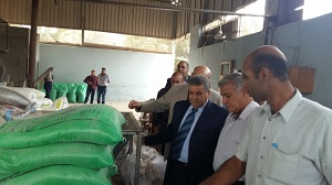 رئيس جامعة بنها إعادة تطوير مصنع الأعلاف بزراعة مشتهر لخدمة المجتمع المحلى