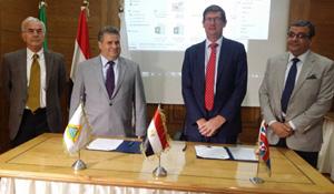 Accord de coopération entre l'Université de Benha et l'Université de Surrey au Royaume-Uni