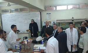 The University President Pays a Sudden Visit to the Faculty of Science