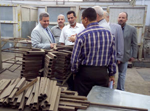 The University President Pays a Sudden Visit to the Faculty of engineering in Benha