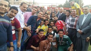 The University president inaugurates the New Stadiums at the University Hostel in Moshtohor and Launches «Our Beautiful City» Initiative