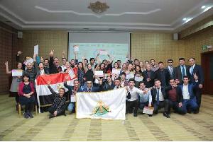 جامعة بنها تشارك في المؤتمر الدولي للشركات والمبادرات باذربيجان