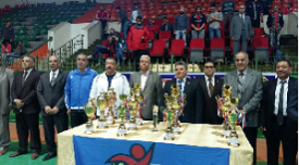 At the End of the Faculties' League in Benha University: Sport Festival and Awards