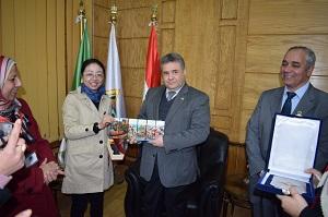 توقيع إتفاقية تعاون بين جامعة بنها وجامعة الدراسات الدولية ببكين