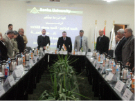 """The University Leaders Council stand for Minute to mourn """"El-Masaaid"""" Martyrs"""