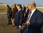 The University President inspects the Stadiums of Youth Development Center at the faculty of agriculture in Moshtohor