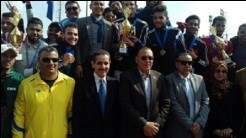 Benha university's awards in the student's families festival in Suez Canal