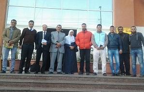 الإعداد للملتقى العلمى العربى الأول لمركز تنمية القدرات بجامعة بنها