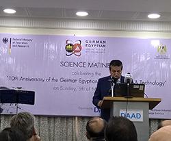 جامعة بنها تشارك في إحتفالية الهيئة الألمانية للتبادل العلمي «DAAD» بالعيد العاشر للتعاون المصري الألماني في العلوم والتكنولوجيا