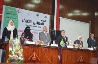 """Education and healthcare are the key factors for prosperity"" says Benha university president in the nursing conference"