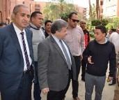 A sudden visit to Kafr-Saad