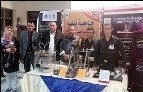 Eight scientific researchers from Benha University in the forum of inventions at EL-Mansoura