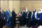 Strengthening the relationship between Benha University and Iraq