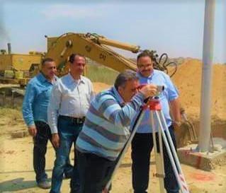 رئيس جامعة بنها فى زيارة مفاجئة يشهد: البدء فى بناء أسوار الجامعة بالعبور