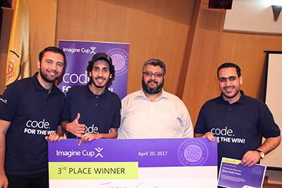 حاسبات ومعلومات بنها تحصل على المركز الثالث بمسابقة ميكروسوفت كأس التخيل