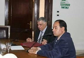 مدير التخطيط الإستراتيجي يستعرض خطة الجامعة الإستراتيجية الجديدة أمام مجلس كلية الهندسة بشبرا