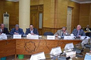 مجلس جامعة بنها يهنىء مغربي: لإختياره عضواً بالمجلس العالمي للطب البيطرى