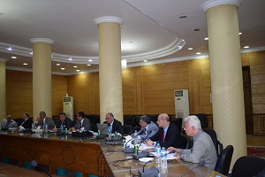 القاضي يبحث الترتيبات النهائية للمؤتمر الدولي الثاني الصيني المصري