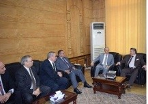 Qulubia Security director visits Benha University