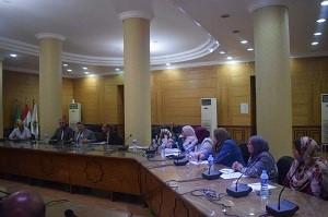 Lors de sa rencontre avec les directeurs des facultés : le président de l'université de Banha met l'accent sur l'importance des activités des étudiants.