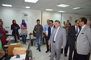 EL-kady supports the MIS center in the university by providing all the potentials needed